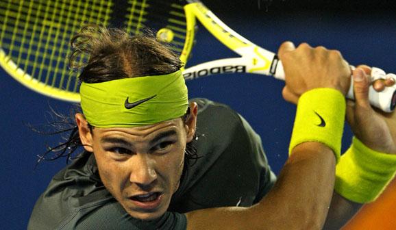 El tenista Rafael Nadal
